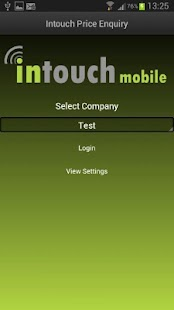 Intouch Price Enquiry- screenshot thumbnail