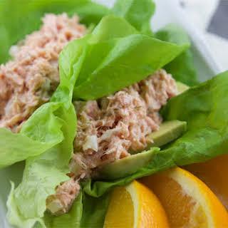 Healthy Salmon Lettuce Wraps Recipes.
