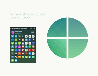 How to download Mint Go Launcher Theme 1 0 unlimited apk for