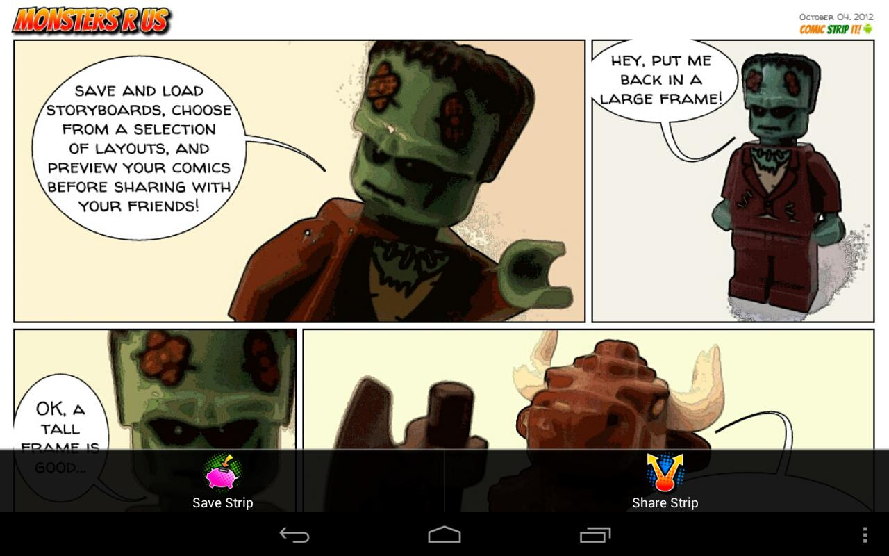 Comic Strip It! (lite) - screenshot