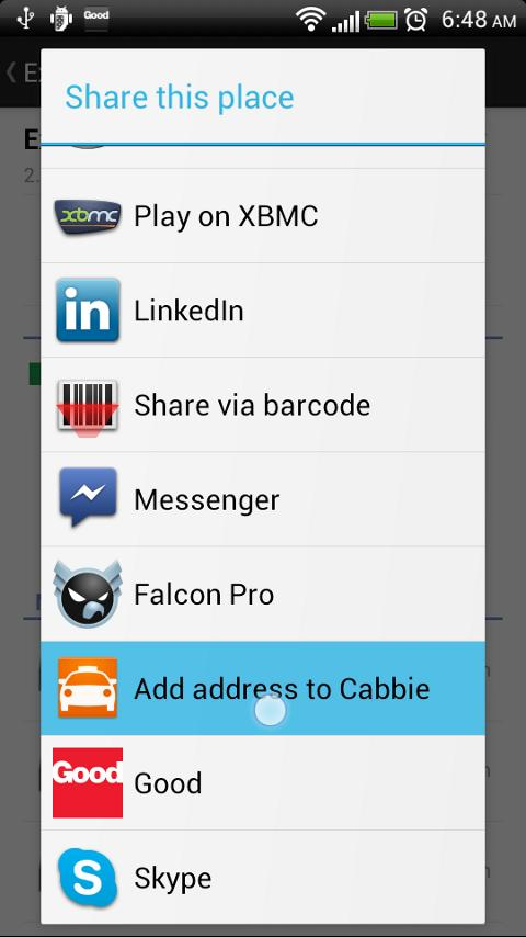 Cabbie - Taxi Cab Booking - screenshot