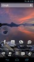 Screenshot of Waterize Lite Live Wallpaper