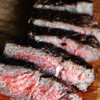 The Perfect Medium Rare Steak