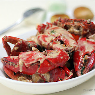 Creamy Butter Crab.