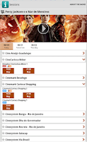 Screenshot of Ingresso.com