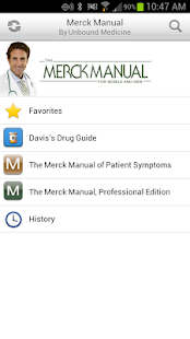 Merck Manual Suite + Drugs - screenshot thumbnail