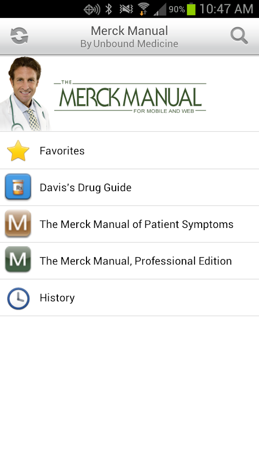 Merck Manual Suite + Drugs - screenshot