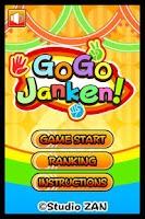 Screenshot of GOGO Janken!