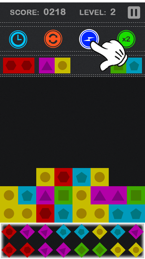 Pile Brick- screenshot