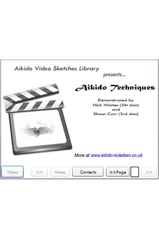 1: Aikido Techniques- screenshot