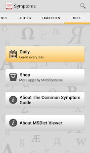 Common Symptom Guide TR - screenshot thumbnail