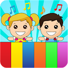 Kids piano app icon