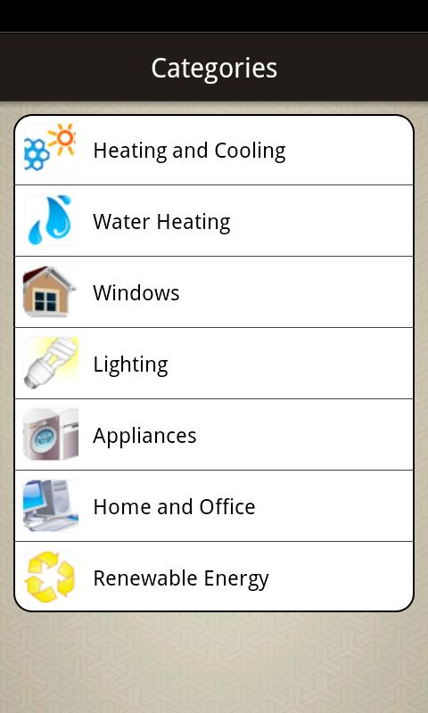 SESD Energy Conservation - screenshot