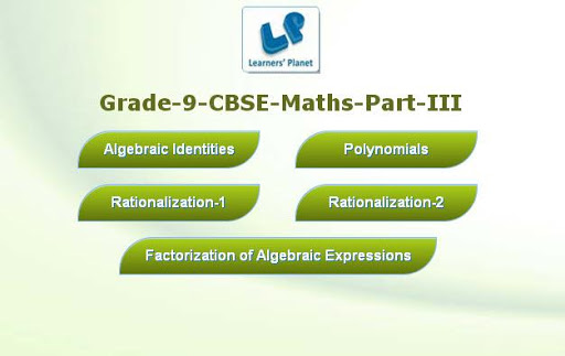 【免費教育App】Grade-9-CBSE-Maths-Part-3-APP點子