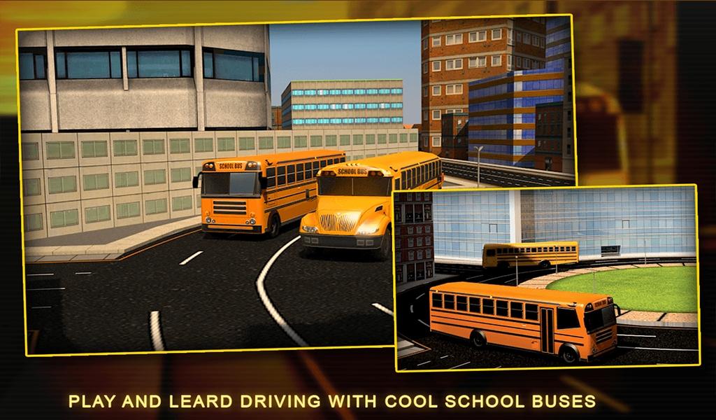 Roof of School Bus School Bus Driver 3d Simulator
