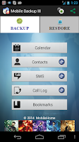 Screenshot of Mobile Backup 3