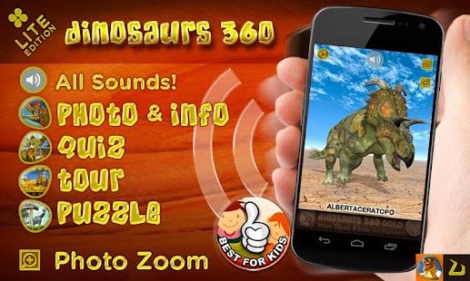 Dinosaurs 360- screenshot thumbnail