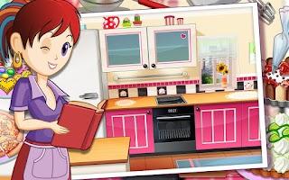 Screenshot of Sara's Cooking Class : Kitchen