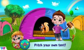 Screenshot of Messy Summer Camp Adventures
