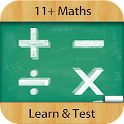 11+ Maths : Learn & Test icon