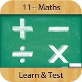 11+ Maths : Learn & Test
