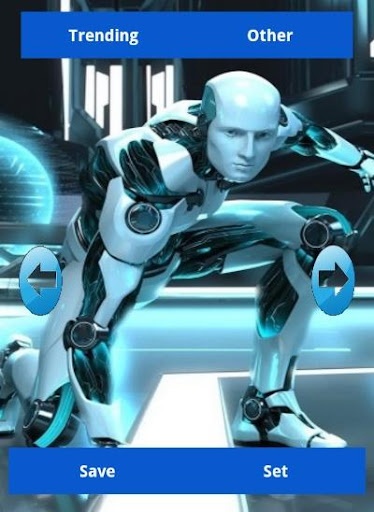 Robot and Cyborg Wallpapers