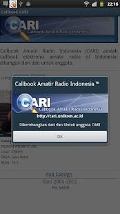 Callbook- screenshot thumbnail
