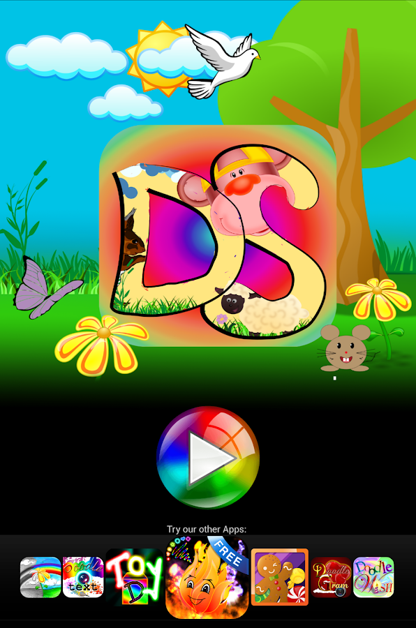 Doodle Scratch kids color draw- screenshot