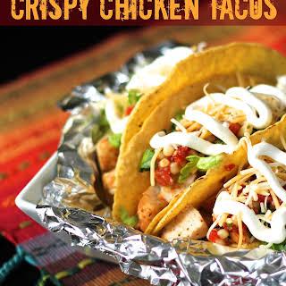 Chipotle's Crispy Chicken Tacos.