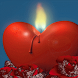 Candle Heart Live Wallpaper