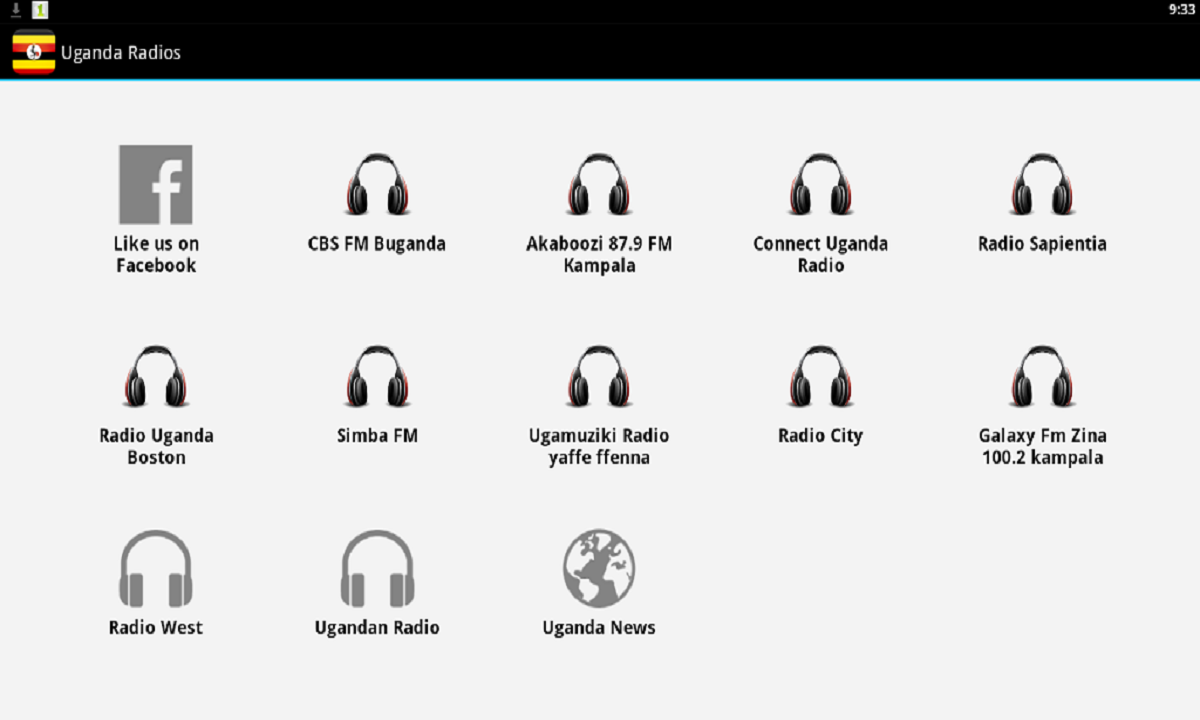 Uganda Radio Free - screenshot