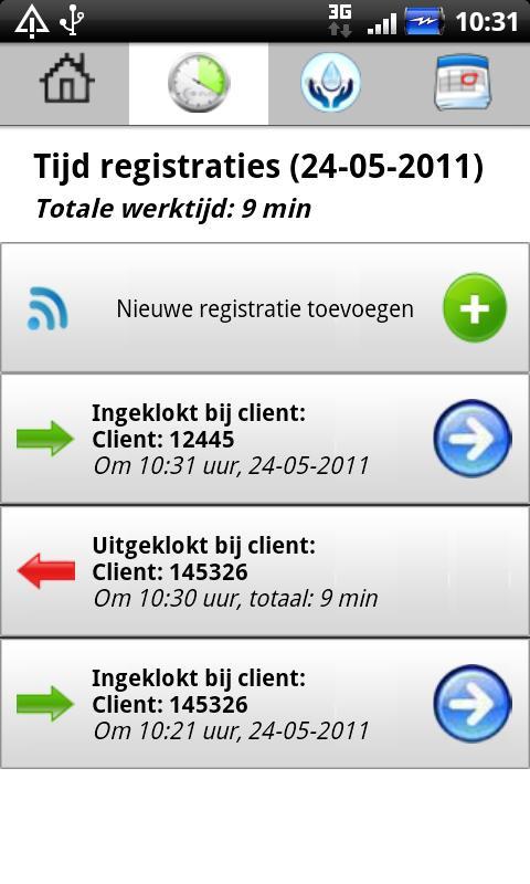 Zorg App voor de thuiszorg- screenshot