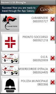 Bisceglie's usefull phone Num.- screenshot thumbnail