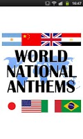 Screenshot of World National Anthems & Flags