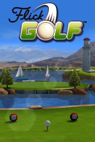 Flick Golf! Free - screenshot