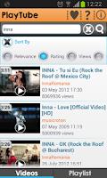 Screenshot of PlayTube for YouTube free