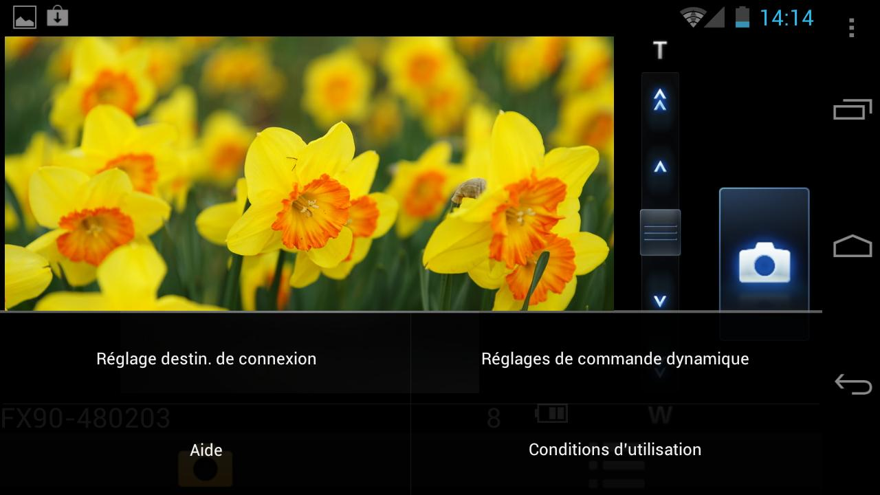 LUMIX remote- screenshot