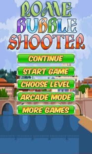 Rome Bubble Shooter