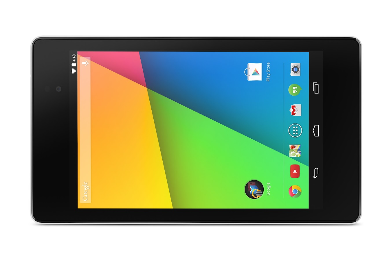 Nexus 7 (32GB, White, Wi-Fi only) - screenshot