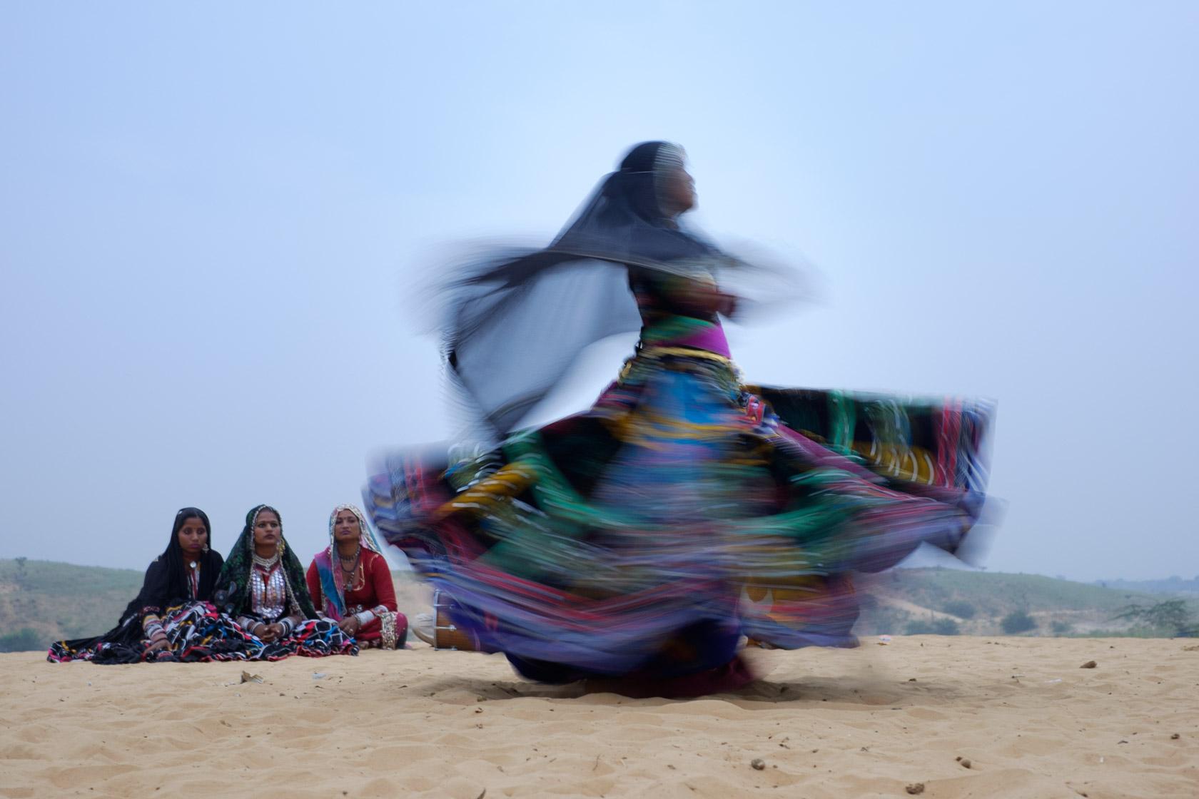 Kalbelia Dancing, Rajasthan