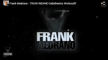 Screenshot of FRANK MEDRANO FITNESS