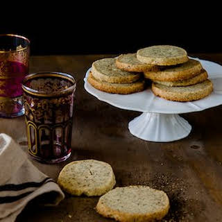 Chai Shortbread Cookies.