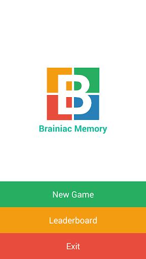 Brainiac Memory Puzzle Game