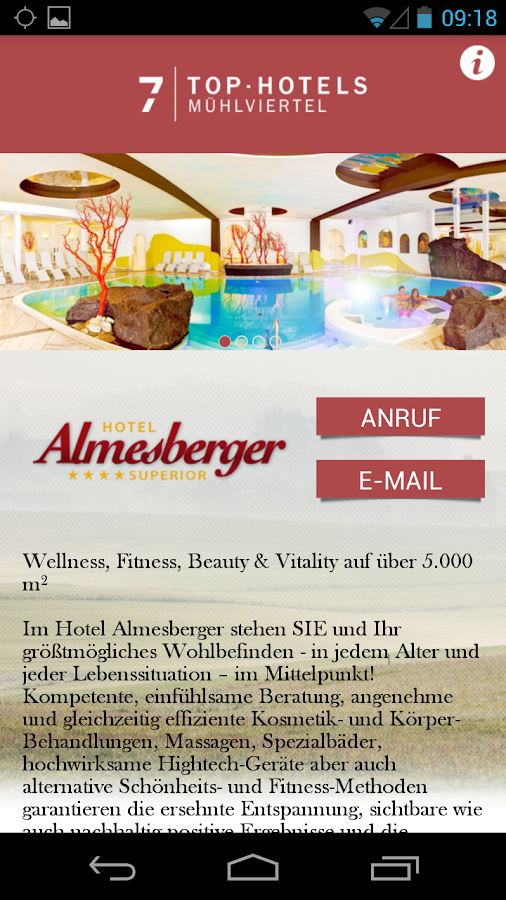 7 TOP.HOTELS Mühlviertel - screenshot