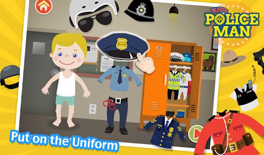 Kids Policeman Free- screenshot thumbnail