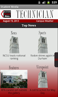 NCSU Student Media - screenshot thumbnail