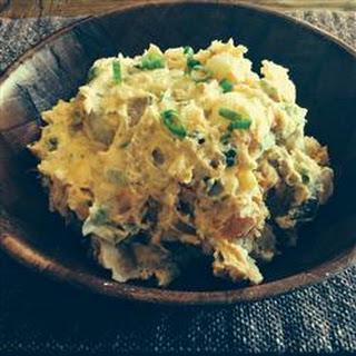 Sweet Potato-White Potato Salad.