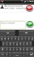 Screenshot of Undo SMS