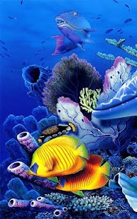 Mořský Svět Živé Tapety - náhled