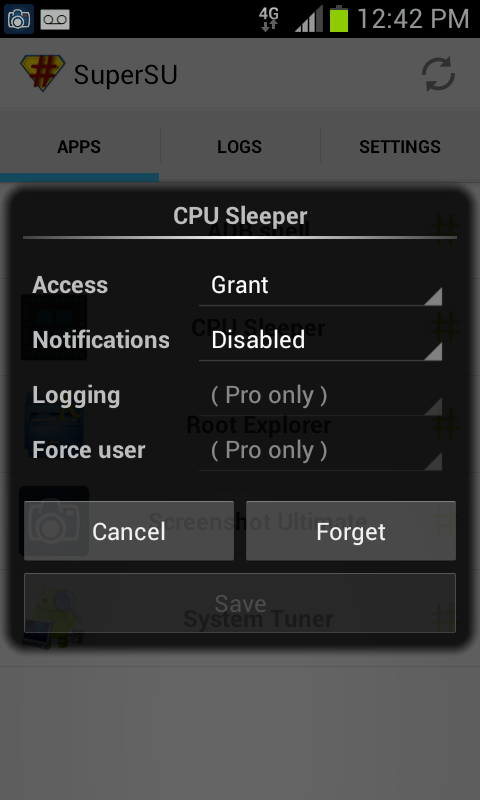 CPU Sleeper 4.0.4 Universal- screenshot